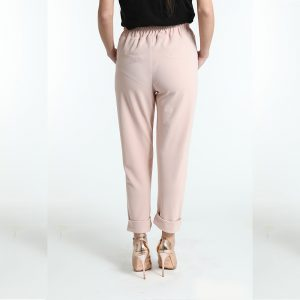 γυναικειο παντελόνι κομψο ροζ