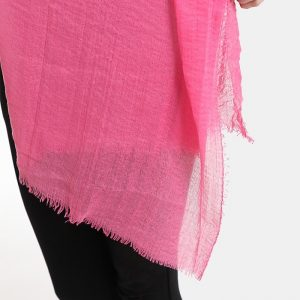 γυναικεια ζαρπα ροζ λινο