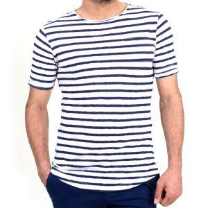 Ανδρική μπλούζα ριγέ