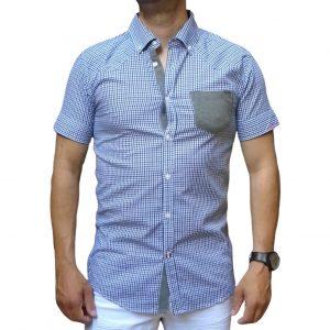 Ανδρικό κοντομάνικο πουκάμισο